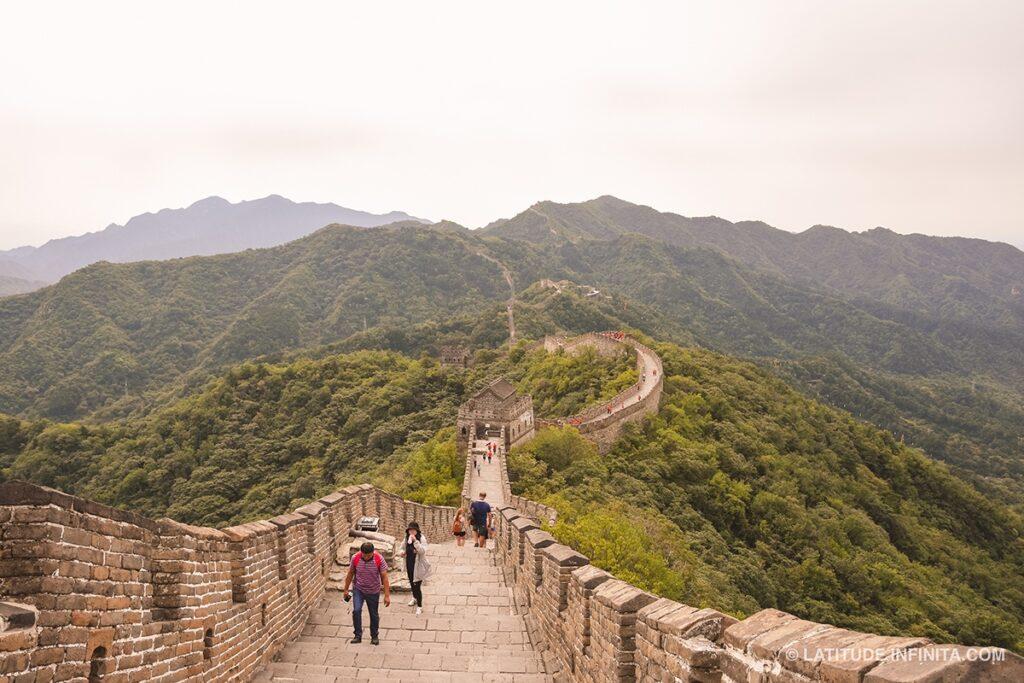 o que fazer em beijing: muralha da China